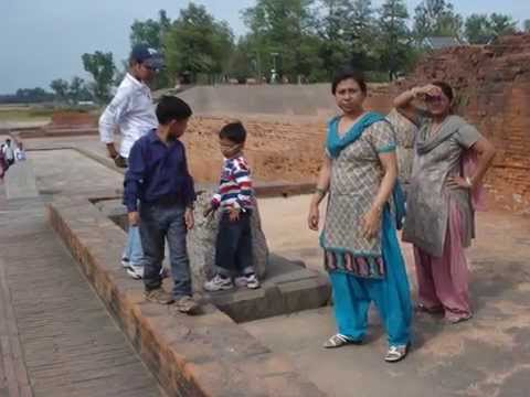 Visit to Vikramshila Archaeological site, Bhagalpur, Bihar, India.