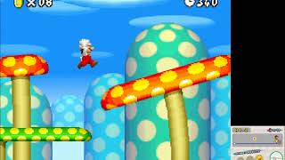 Emulação - New Super Mario Bros jogável no melonDS (Nintendo DS)