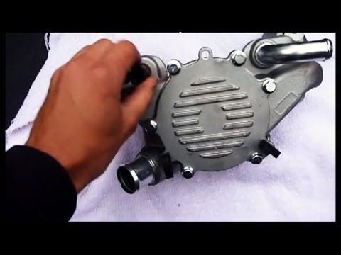 How To Water Pump Replacement LT1