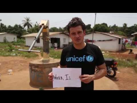 UNICEF Goodwill Ambassador Orlando Bloom on World Water Day