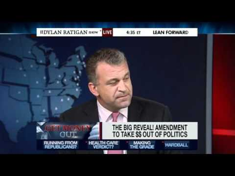 Ending political corruption  ~ Constitutional Amendment  ~  Dylan Ratigan
