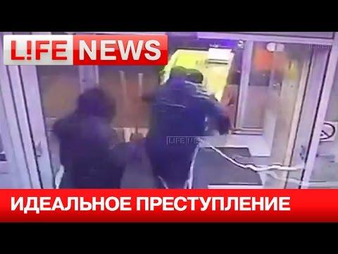 Шесть грабителей в масках всего за минуту похитили банкомат с 9 млн рублей