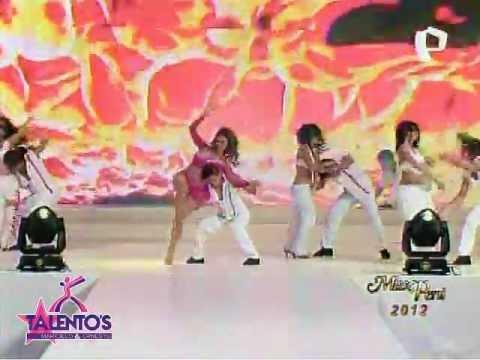 Miss Perú 2012: Se presenta Maricielo Effio y el elenco de Talentos (30-06-2012)