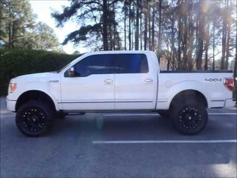 2010 Ford F-150 Platinum 4x4 Lifted Truck For Sale