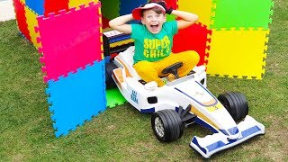 ALİNİN SİHİRLİ ARABA KUTUSU Magic Toy Cars 🚗 Box 🎁 and Kid Ride on Power wheels