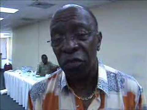 Jack Warner gives his views following TTFF's 2007 AGM