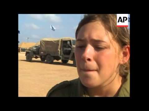 Female Israeli soldiers talk about the Gaza withdrawal