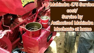 Mahindra 475 sarpanch service/service cost Next video Mahindra yuvo Servicing