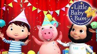 Party Time Song   Nursery Rhymes   Original Songs By LittleBabyBum!