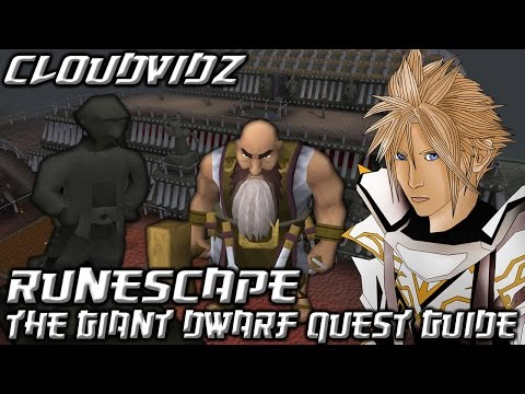 Runescape The Giant Dwarf Quest Guide HD Review Thumbnail