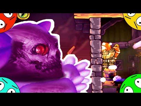 🐾 Подземелья планеты зомби Лунтиков. Пожарный против демонов # 8. Смотреть мультик