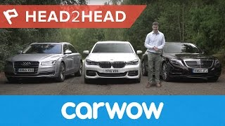 BMW 7 Series vs Mercedes S-Class vs Audi A8 2017 | Head2Head