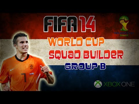 Xbox One FIFA 14 UT | World Cup Squads | Group B - The Netherlands Ft. Legend De Boer