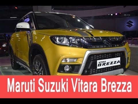 Maruti Suzuki Vitara Brezza Price in India, Review, Test drive   Smart Drive 24 Apr 2016