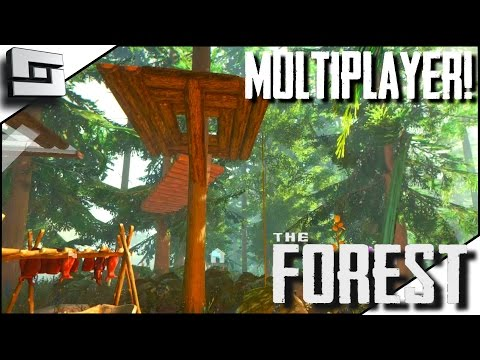 The Forest Multiplayer - NEW BASE! E26 ( Gameplay )