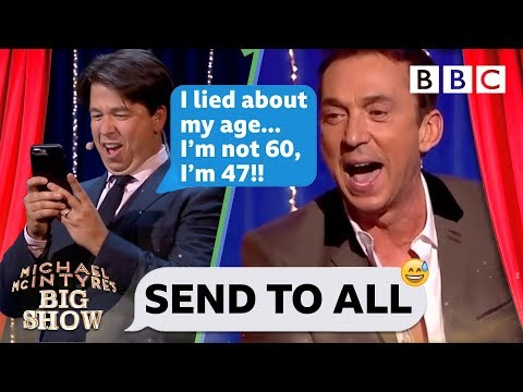 Send To All with Bruno Tonioli - Michael McIntyre's Big Show: Episode 4 - BBC One