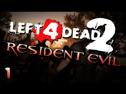 L4D2: Resident Evil w/ Gassy, Nanners, Diction, &amp; NFEN #1