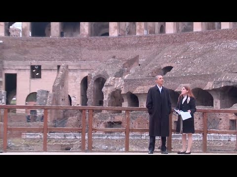 Travels with The President - Rome & Vatican City
