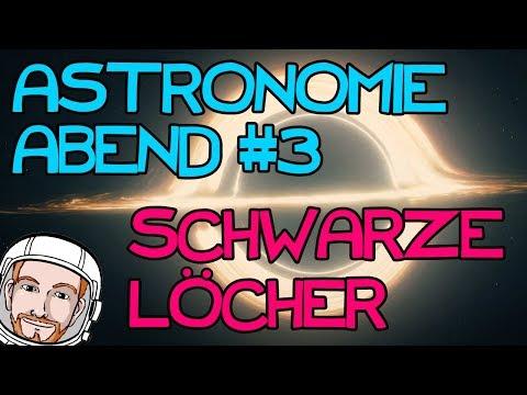 Astronomie Abend - Schwarze Löcher | Interview mit Dr. Gaida (DLR)