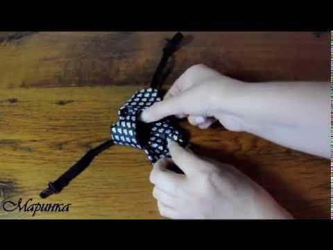 Как завязать короткий галстук на резинке