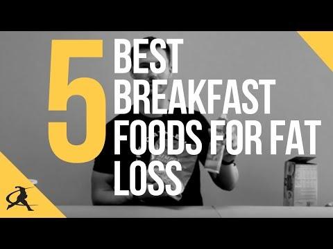 5 Best Breakfast Foods for Fat Loss