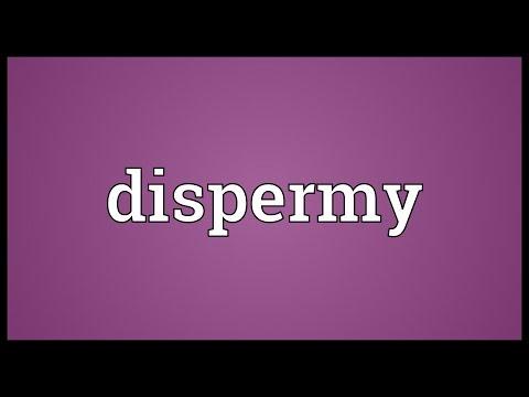 Header of dispermy
