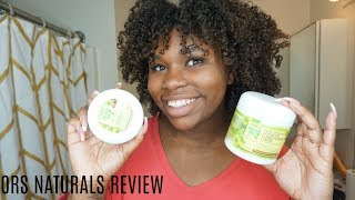 WASH N GO OR WASN N NO?| ORS NATURALS REVIEW AND DEMO! 3C 4A HAIR