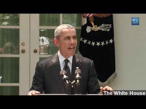 Obama: U.S. To Withdraw Troops From Afghanistan By 2017