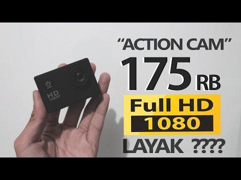 [ Unboxing + Review ] Action cam harga 175 ribu? -  Worth ga sih ?