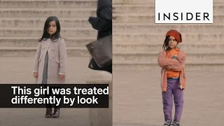 This little girl was treated differently based on looks