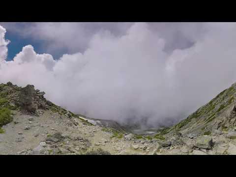 8K 360 VR 北アルプス 立山 山頂 360度動画
