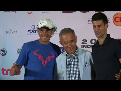 Nadal pays tribute to 'amazing' Djokovic ahead of Thailand clash