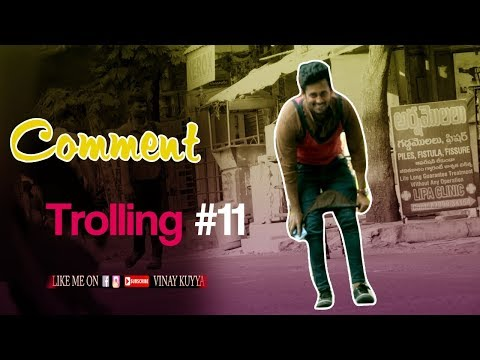 Asking Whatsapp Number to Girls | Comment Trolling Prank#11 in Telugu | Crazy Dares | Vinay Kuyya