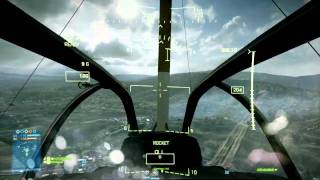 BF3 AH-1Z Viper Multiplayer Gameplay [2/3]