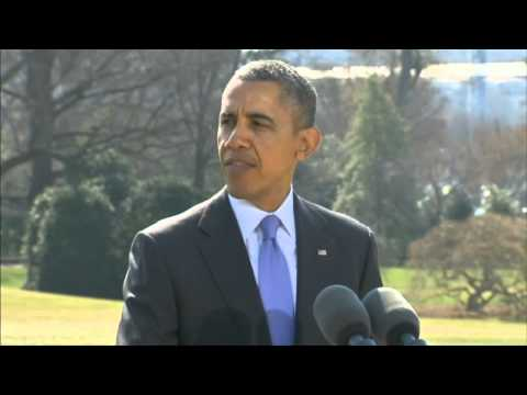 Obama speaks about Crimea