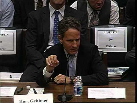 Congressman Sherman Questions Geithner on Libor Scandal and Housing Recovery
