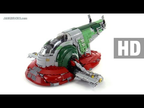 LEGO Star Wars UCS Slave I detailed review! set 75060