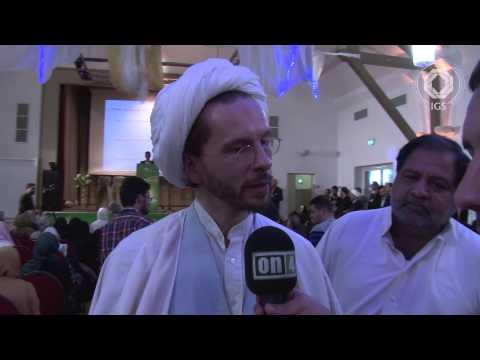 1. jährliche Festveranstaltung Ghadir Khumm in Mainz