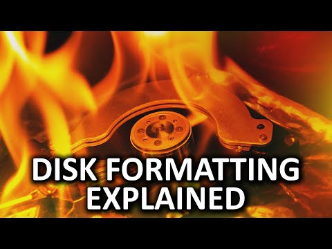 Disk Formatting As Fast As Possible