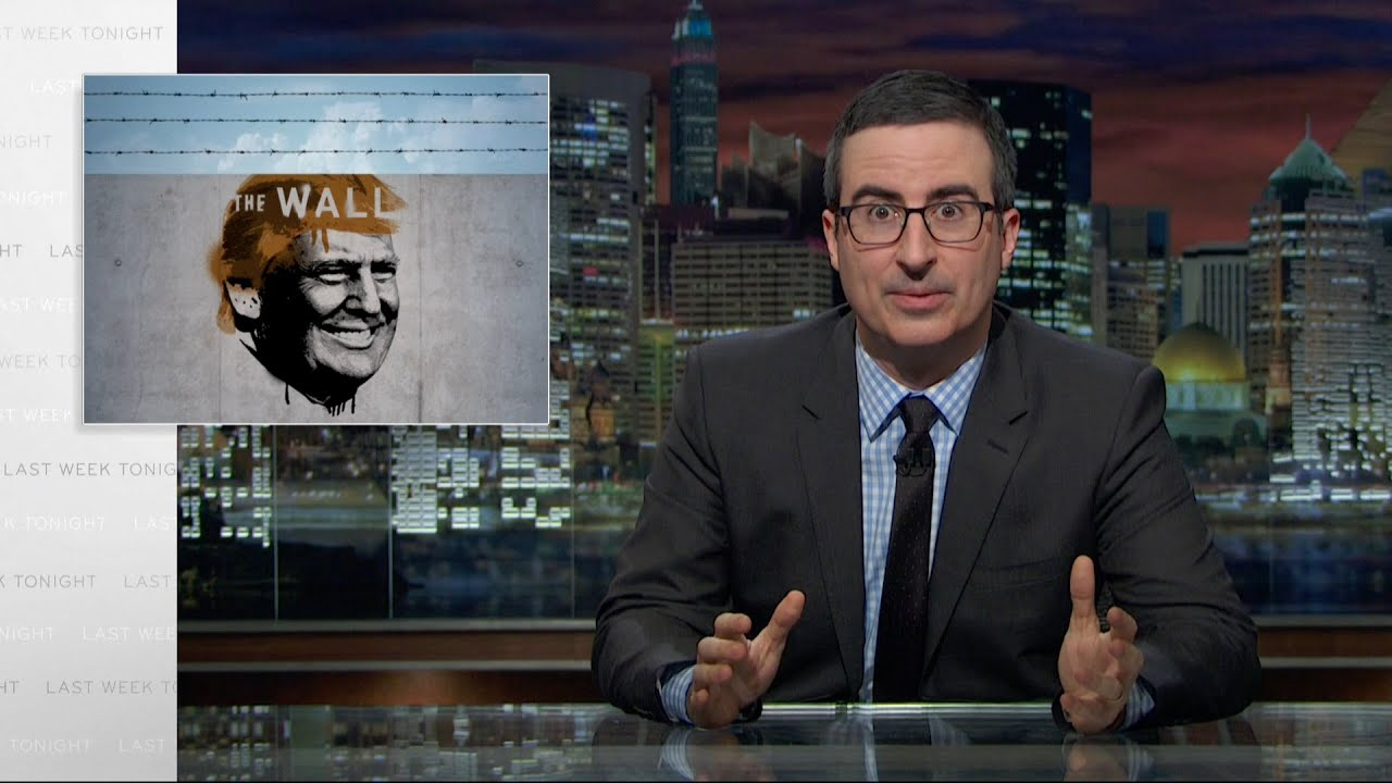 [John Oliver Investigates Donald Trump's Claim That He's Going To Build A Wall] Video