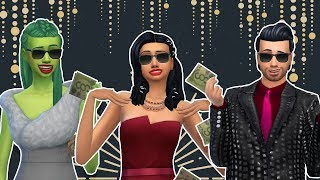 The Sims 4: Get Famous Episode 1 – Exploring the world