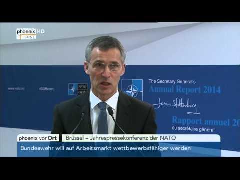 NATO: Jahrespressekonferenz mit Stoltenberg am 30.01.2015