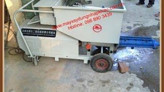 MXDNK - 098 890 3439 May phun vua, máy bơm vữa, máy phun vữa tô trát tường KSP - 3II.