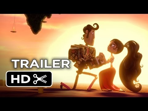 Book of Life TRAILER (2014) - Guillermo del Toro Animated Movie HD