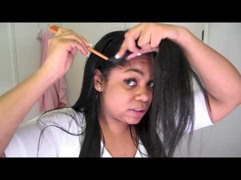♡Hair Care 26: Silky Bone Straight Hair That Lasts!