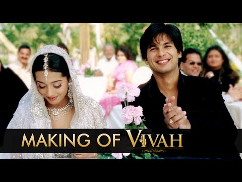 Making of Vivah - Bollywood Movie - Sooraj Barjatya, Shahid Kapoor & Amrita Rao