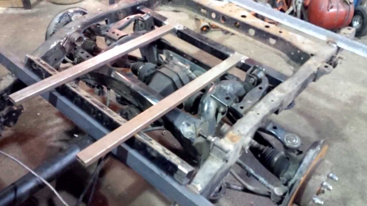 Toyota Pickup Solid Axle To Multi Link Conversion Youtube