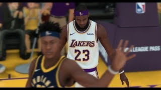 NBA 2k19 | LA Lakers Starting lineup, Lebron's HeadGear and Shoes Update