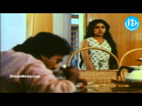 Mouna Ragam Movie - Mohan, Revathi Nice Scene video