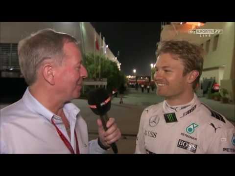 2016 Bahrain Post Race: Nico Rosberg